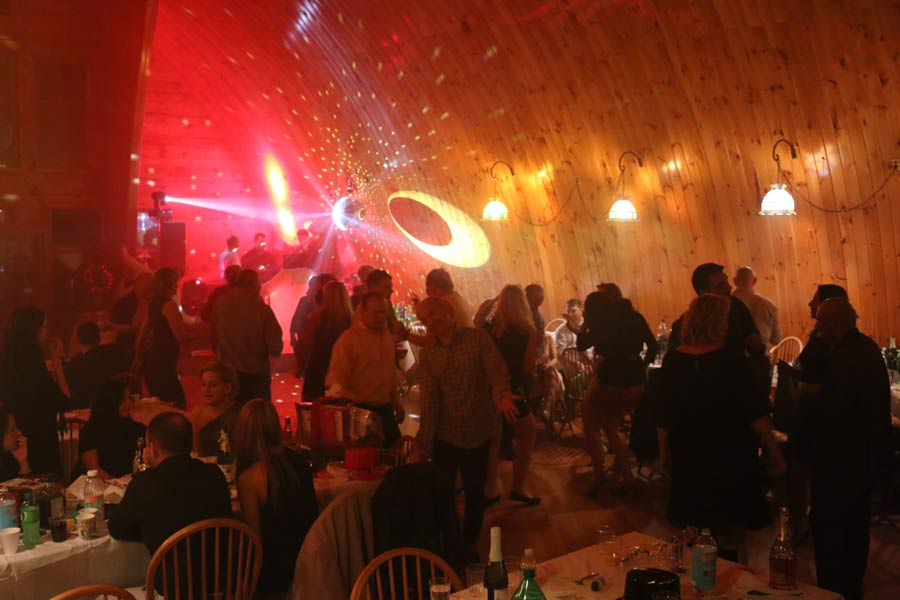 New Year's Rings in at the Barn Venue
