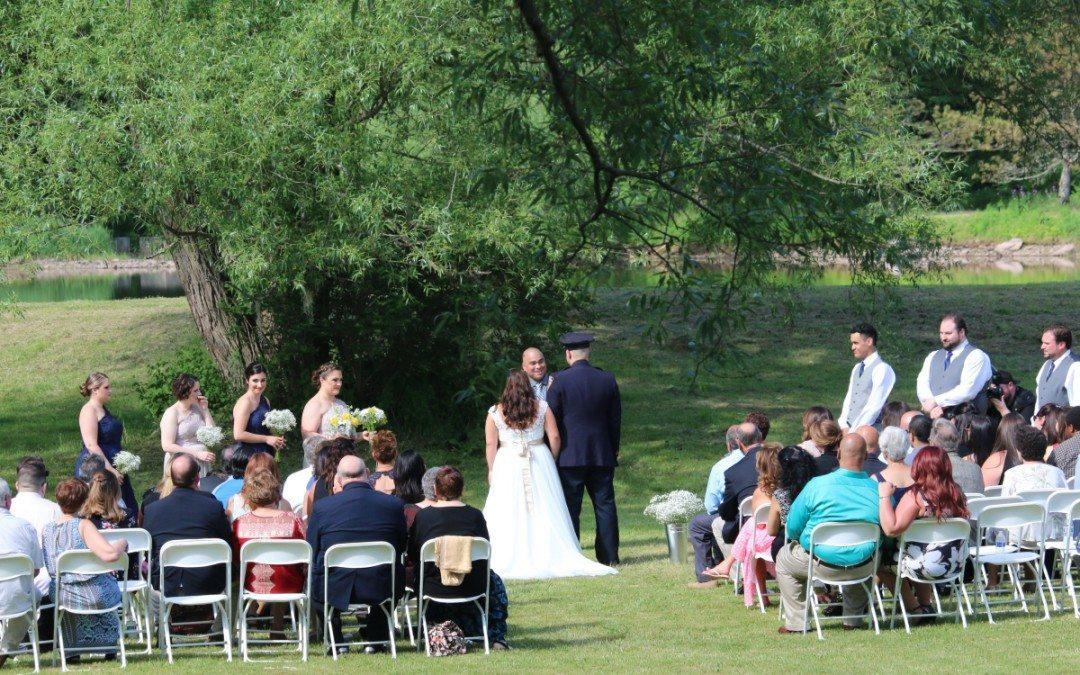 Gina and David's Wedding at The Homestead Farm Resort!